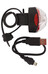 CatEye Rapid1G TL-LD611G - Luz a pilas traseras - rojo/negro